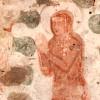 Kościół Ducha Św. - fragment malowidła gotyckiego